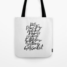 The Fruits of the Spirit Tote Bag