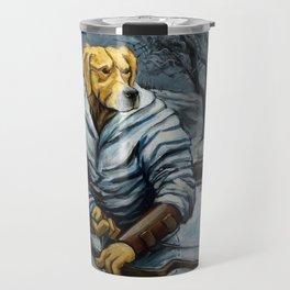 Golden Hunter Travel Mug