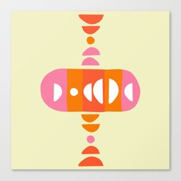 Storm Calka Sixties Canvas Print