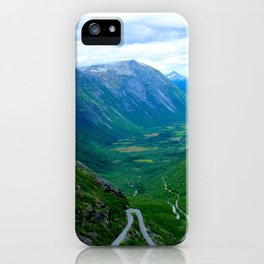 Snake Road iPhone Case