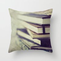 inspiration Throw Pillows featuring Inspiration by Angela Fanton