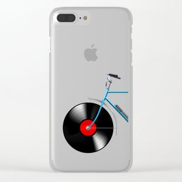 Simphony Bike Clear iPhone Case