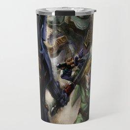 fight zarda swordsman Travel Mug