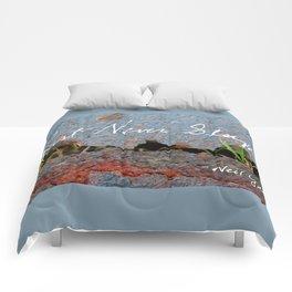 Rust Never Sleeps Comforters