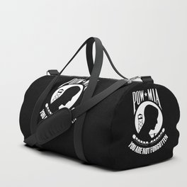 POW MIA - Prisoner of War - Missing in Action flag Duffle Bag