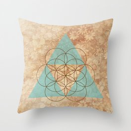 Geometrical 007 Throw Pillow