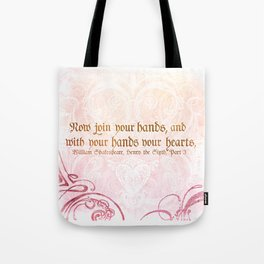Join your Hands Tote Bag