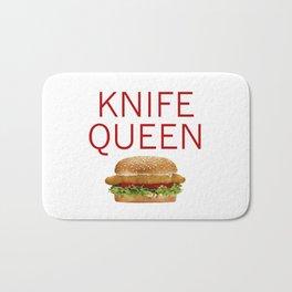 KNIFE QUEEN Bath Mat