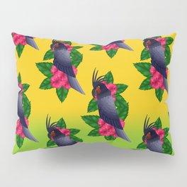 Palm Cockatoo (Probosciger aterrimus) Pillow Sham