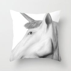Kathryn's Unicorn Throw Pillow