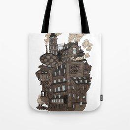 Flying city. Tote Bag