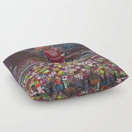 The Gambler Floor Pillow