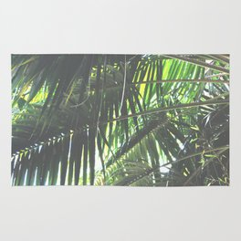 Faded Palm Jungle Rug