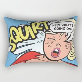 Hey! What's going on? Squirt... Rectangular Pillow
