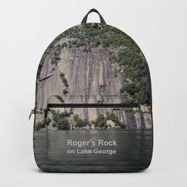 Roger's Rock on Lake George in the Adirondacks Backpack