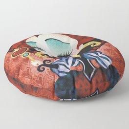 Queen of Hearts Floor Pillow