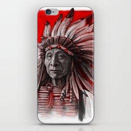 Red Cloud iPhone Skin