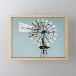 Windmill No. 7 Framed Mini Art Print