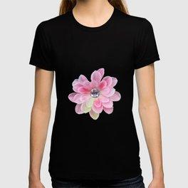 Shocking Pink Flora Gems T-shirt