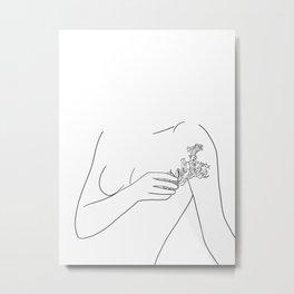 floraison Metal Print