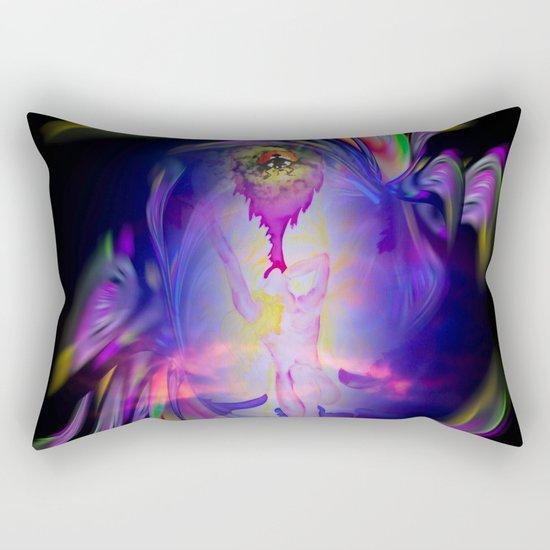 Flowermagic - good luck Rectangular Pillow