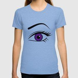 Violet Left Eye T-shirt