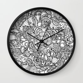 Medal of Groovy Wall Clock