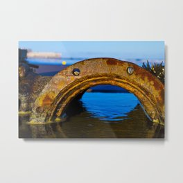 rust water Metal Print