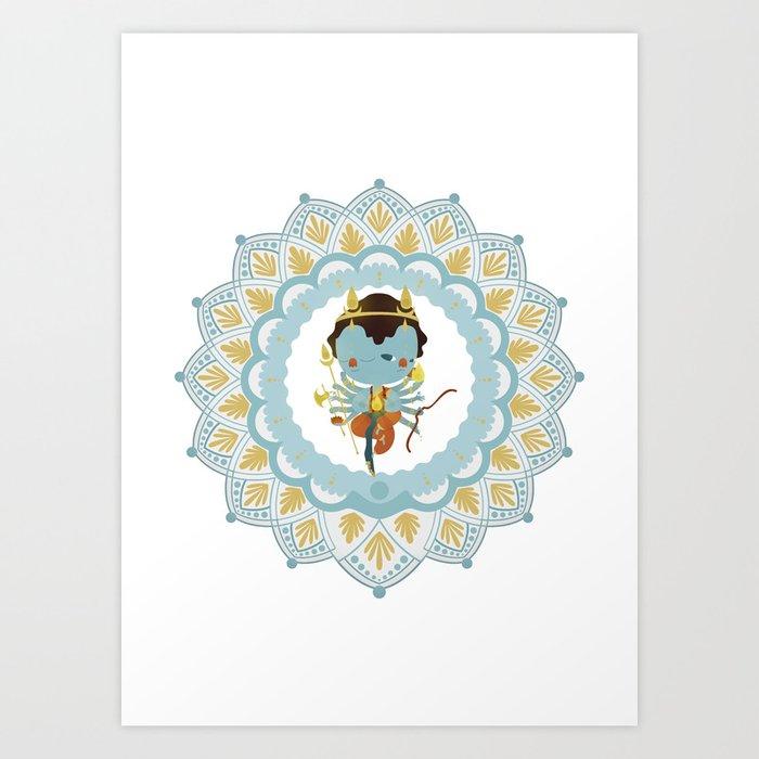 Agni Art Print