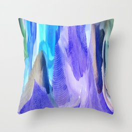375 - Abstract Flower Design Throw Pillow