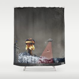 Mind Fuck Shower Curtain