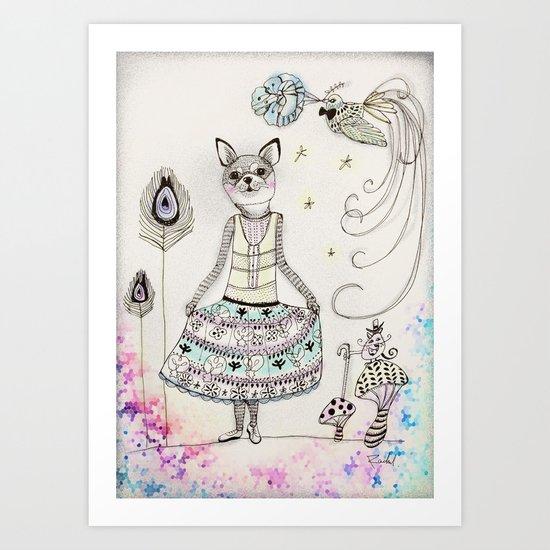 Miss ChiChi Art Print