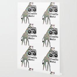 Giraffe Music Wallpaper