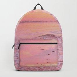 Pink sunset Backpack