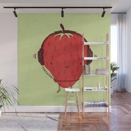 Strawberry Jammin' Wall Mural