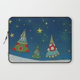 A Small Winter Forest Laptop Sleeve