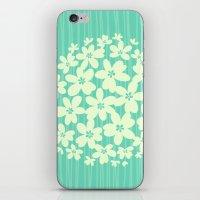 hawaiian iPhone & iPod Skins featuring Hawaiian Blue  by Endless Summer