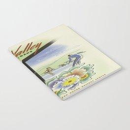 Vintage poster - Sun Valley, Idaho Notebook