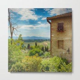 Tuscany, Italy Metal Print