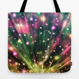 Brilliant Fireworks Tote Bag