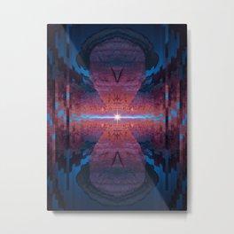 Fission Metal Print