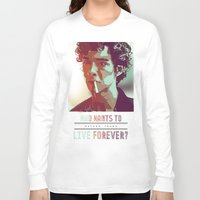 forever young Long Sleeve T-shirts featuring Forever Young by InariRaith