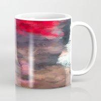 redhead Mugs featuring Redhead by TARA SCHLAYER