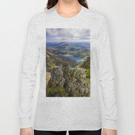 Top Of Snowdon Long Sleeve T-shirt