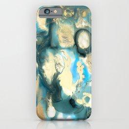 Golden Reef iPhone Case