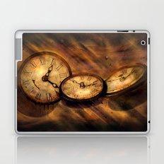 Die Zeit vergeht im Flug Laptop & iPad Skin