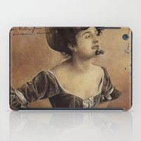 postcard iPad Cases featuring ''Postcard'' by Nina Petrova