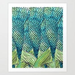 Mermaid Print Art Print