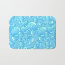 soap bubbles Bath Mat