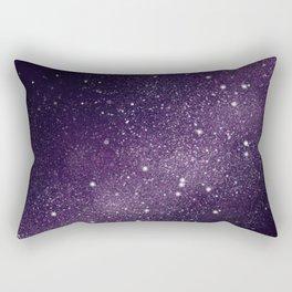 Puple Galaxy Rectangular Pillow
